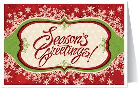Holiday Business Cards Traditional Holiday Greeting Card 36099 Harrison Greetings