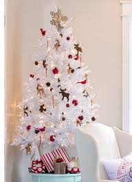 bright inspiration white artificial trees remarkable