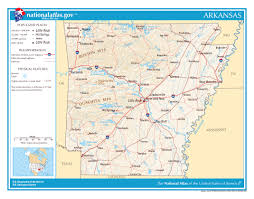 Map Of 50 States by Large Detailed Map Of Arkansas State Arkansas State Usa Maps