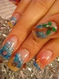 nail art ready for the beach nails summer 2011