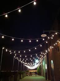 Commercial Patio String Lights by Patio Diy Outdoor String Lights With Wooden Deck Ideas And Some