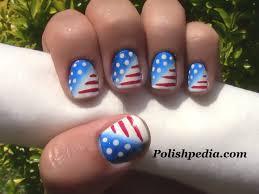 patriotic nail art 4th of july nails youtube