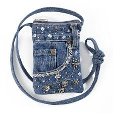 embellished denim bag gifts clothing jewelry home decor and
