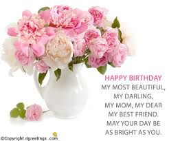 happy birthday my most beautiful birthday cards for mom