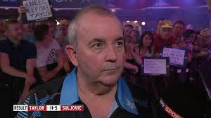 phil taylor and gary anderson reach world matchplay quarter finals