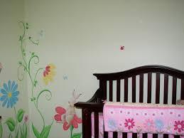 baby room murals sherri davis art baby nursery flower mural