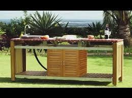 faire une cuisine d été cuisines d exterieur et cuisines d ete design barbecues haut de