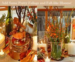 fall table arrangements fall table centerpieces for a wedding with a rustic charm unique