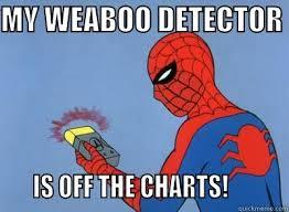 Weeaboo Meme - weeaboo detector quickmeme