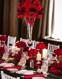Halloween Wedding Centerpieces by 35 Red And Black Vampire Halloween Wedding Ideas Deer Pearl Flowers