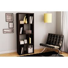 Wood Shelving Units by South Shore Reveal Shelving Unit With 8 Compartments Multiple