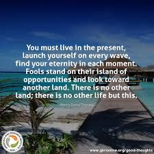 education quotes henry david thoreau you must live in the present launch yourself with every wave