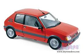 peugeot cars models 1988 peugeot 205 gti 1 6 coupe 184853 1 18 scale norev wholesale