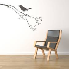 compare prices on wall murals plant online shopping buy low price branches with bird standing on cute tree wall stickers home plant series nature decor vinyl art
