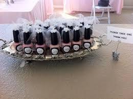 bridal shower gifts for guests opi bridal shower favors on black bridal bliss bridal shower