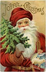 vintage christmas vintage christmas santa image wonderful the graphics fairy