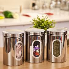 stainless steel kitchen canister sets kitchen storage containers lovely free shipping stainless steel