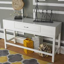 White Hallway Console Table Hallway Console Table With Storage Hall Console Tables Luxury