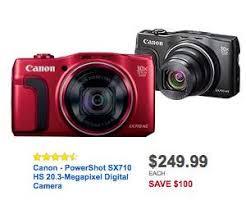black friday sales amazon cameras best buy 249 99 canon powershot sx710 hs 20 3 megapixel digital camera