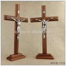 large crucifix large decorative standing crucifix alloy wooden cross buy wooden