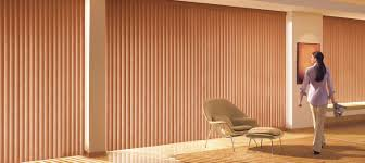 Covering Wood Paneling by Vertical Blinds Sliding Glass Doors Motorized