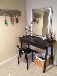 Target Mirrored Console Table by Diy Dressing Table Vanity Using A Desk And Mirror From Target