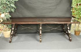 antique spanish baroque refectory table iron for sale antiques