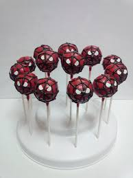 spiderman cake pop holder ideas 103692 spiderman cake pops