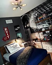 chambre ado originale tonnant chambre ado mur noir galerie conseils pour la maison by
