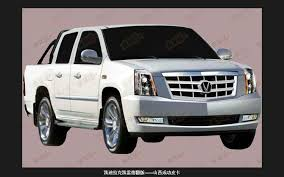 cadillac truck china clones cadillac escalade ext poorly truck trend news