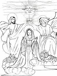 queen heaven coloring mary queen heaven lapbook