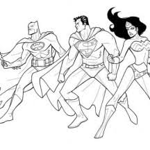 superman batman woman coloring pages coloring