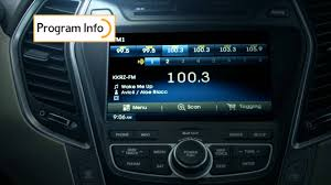 2014 u0026 2015 hyundai santa fe w hd radio technology youtube