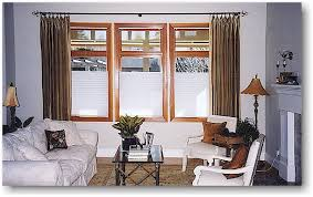 Curtains With Rods On Top And Bottom Blind Alley Casual Window Treatments Portfolio