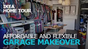 garage organization u0026 storage ideas u2013 ikea home tour episode 302