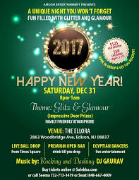 new years events in nj new years with glitz and by amogh in the ellora