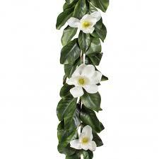 flower garland 6 magnolia flower garland 2839016wh craftoutlet