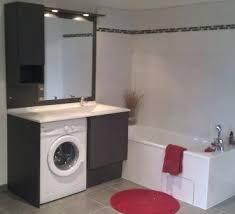 cuisine avec lave linge salle de bain avec meuble de cuisine meuble cuisine avec plan de