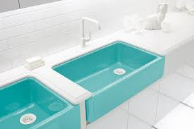 Colored Sinks Kitchen Colored Sinks Leola Tips