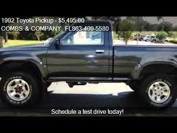 92 toyota tacoma for sale 1992 toyota for sale in lakeland fl 33813