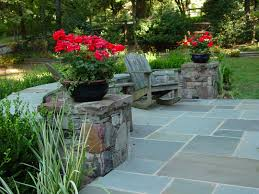 Rock Patio Designs by Backyards Landscapes With Natural Stone Patio Designs Backyard