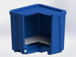 Decorative Recycling Containers For Home Modroto Rotomolded Carts Containers Custom Plastics