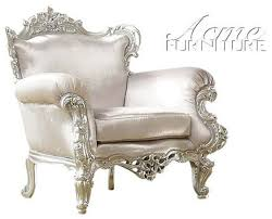 Silver Accent Chair Beautiful Silver Accent Chair In Interior Design For Home With