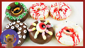 Halloween Monster Ideas 5 Donut Ideas For Halloween Monster Donuts Decoration Party