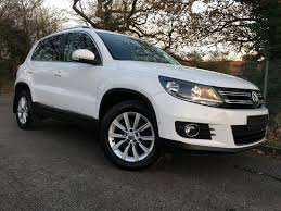 volkswagen tiguan white used 2012 volkswagen tiguan 2 0 tdi bluetech 4motion 7 speed