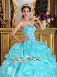 aqua blue quinceanera dresses discount aqua blue quinceanera dress sweetheart ruffles organza