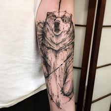 14 best sketch work tattoos images on pinterest artists bear