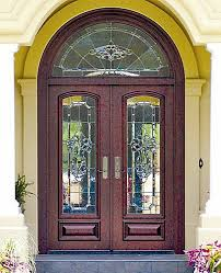 how to use double front doors for make the entrance impressionable