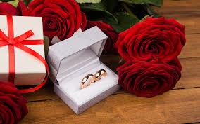blumen geschenke zur hochzeit hintergrundbilder trauung ring blumen geschenke 3840x2400