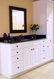 Tall Linen Cabinets For Bathroom Foter - Floor to ceiling bathroom storage cabinets
